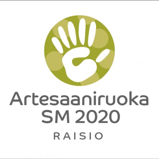 Artesaaniruoka SM 2020 Raisio -logo