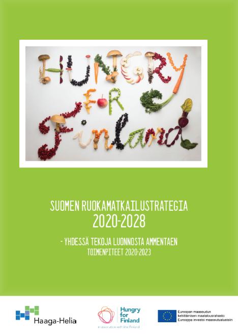 Suomen ruokamatkailustrategia 2020-2028 kansikuva